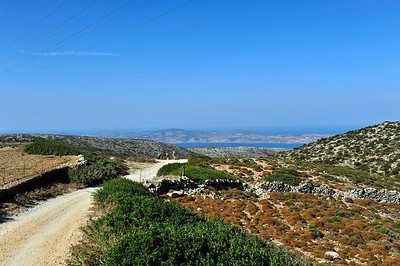 View of Antiparos ahead.