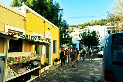 """Supermarket"" in the town of Lefkes."