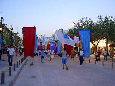 Athens - at the moment the Olympic games are taking place