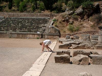 Delphi - stadion