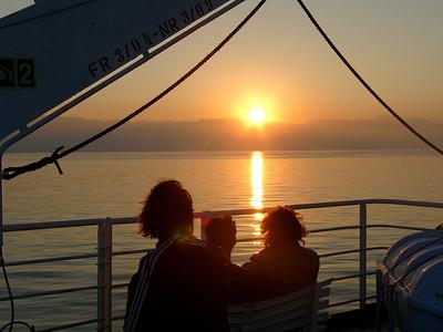 On the ferry to Igoumenitsa