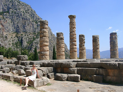Delphi - Apollon temple
