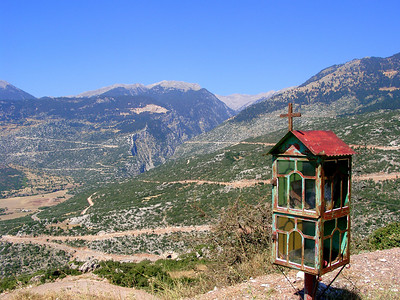 On our way to Delphi