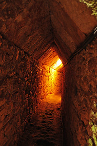 Inside the Eupalinian aqueduct