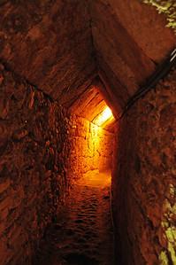 Inside the Eupalinian aqueduct