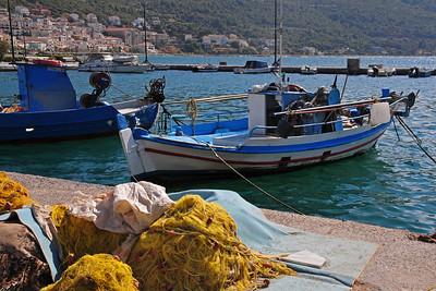 Vathy on Samos island