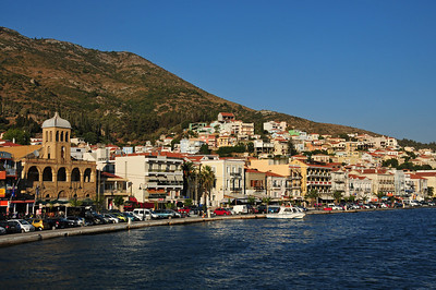 Vathy on Samos island