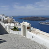 In Fira, the capital and main city.