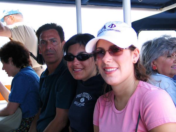 On the Santorini cable car