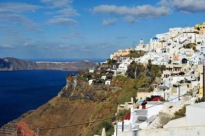 Fira - Santorini, Greece.