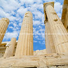 Arcopolis Parthenon columns rise skyward.