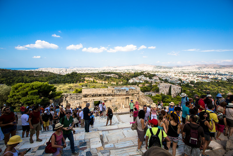 City View of Athens from the Parthenon