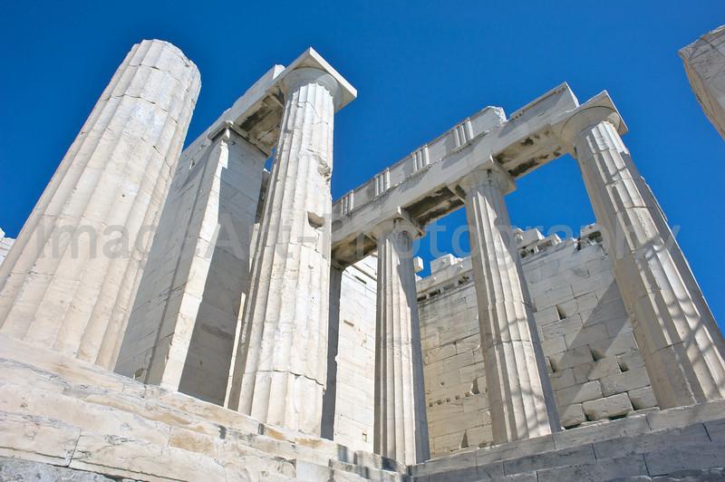 Acropolis buildings