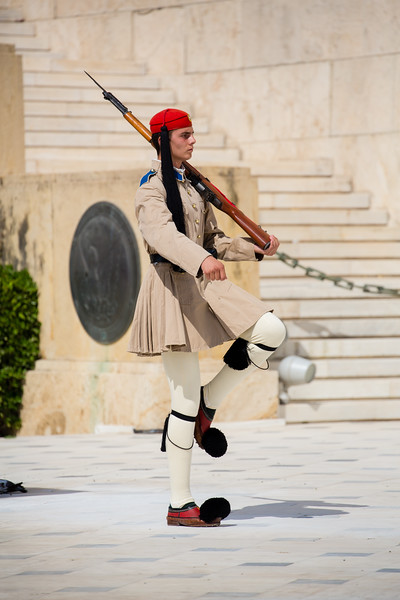 Tomb of the Unknown Soldier at the Greek Parliament