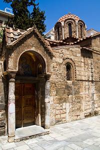 Panagia Kapnikarea Monastiraki Athens, Greece