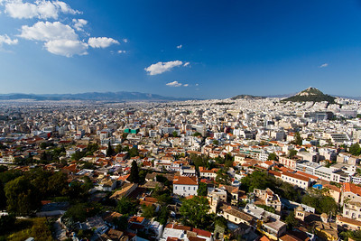 View of Athens from the Acropolis Athens, Greece