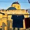 Laundry and Church, Oia, Santorini, July 2005