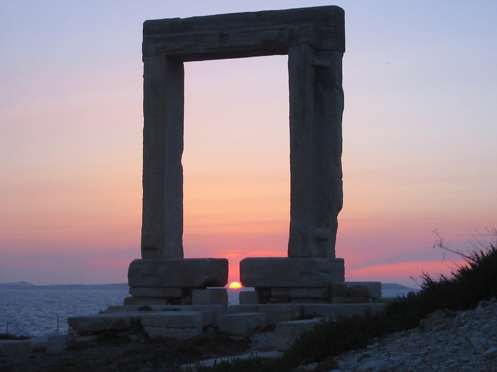 Sunset in Naxos