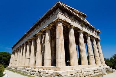 Temple of Hephaistos Ancient Agora Athens, Greece