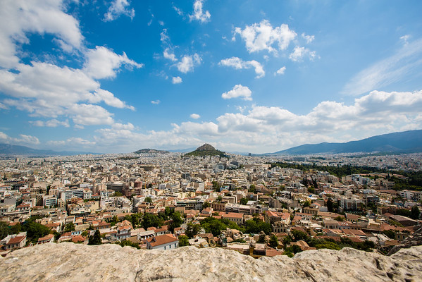 City View of Athens from the Acropolis