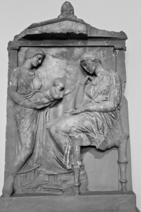 Funerary Stele from Psychiko (first quarter of the 4th century BC) National Archaeological Museum Athens, Greece