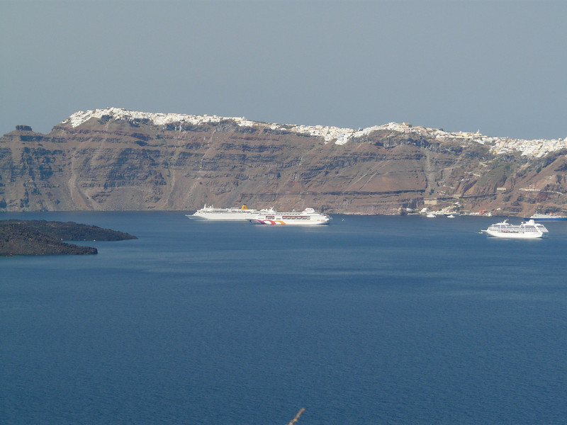 The Caldera from the 'other side'