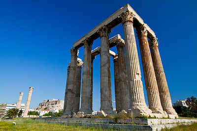 Temple of Olympian Zeus Athens, Greece