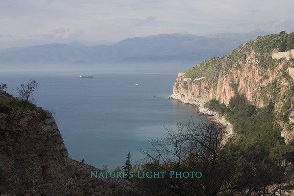 Gulf of Argolis from Palamidi Stair, Nafplio -6157