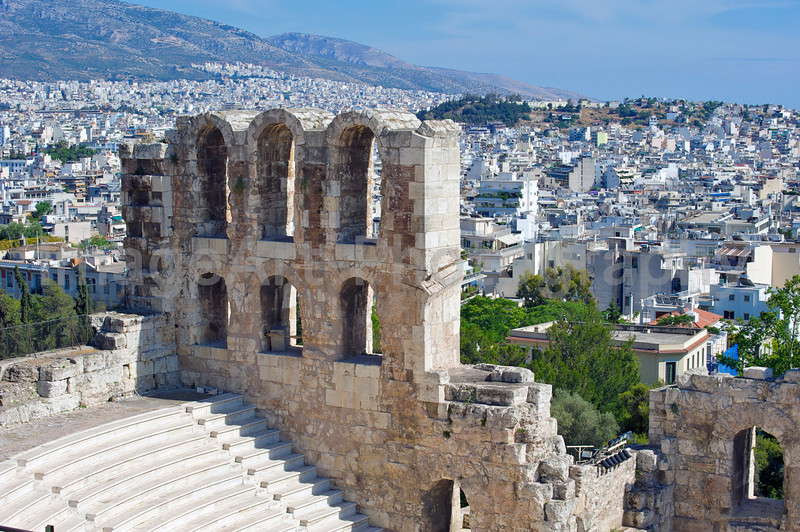 Acropolis buildings
