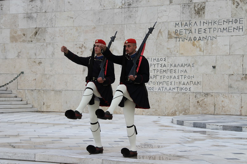 Change of guard, Athens, Greece