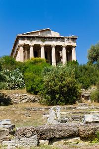 Temple of Hephaistos Acient Agora Athens, Greece
