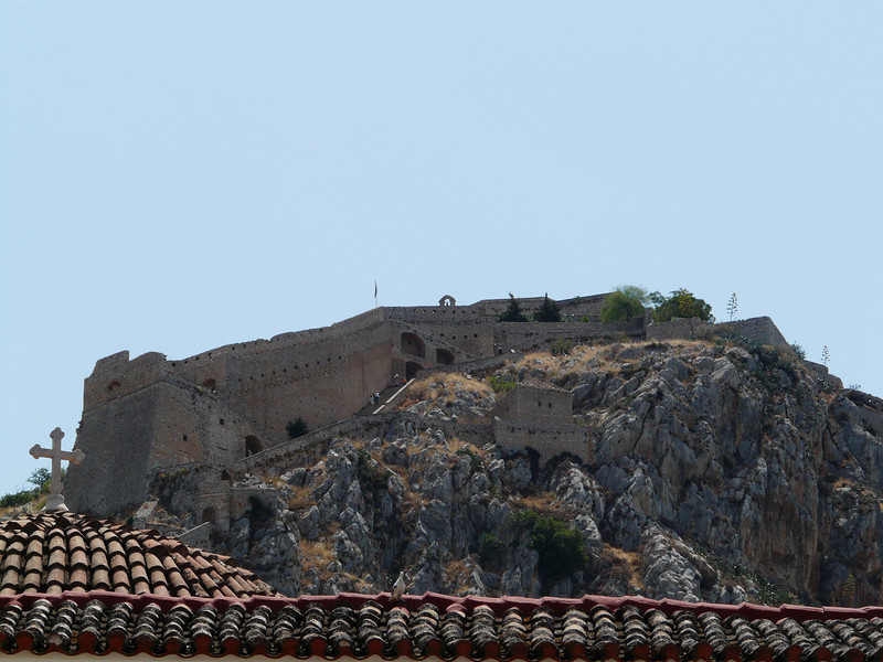 The Acropolis from Plaka