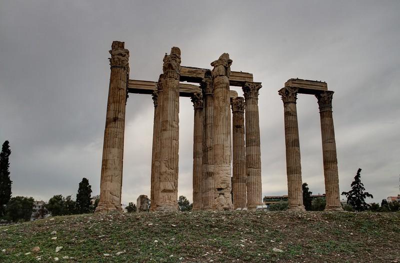 Hadrian's wall, Greece