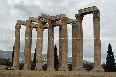 Temple of Zeus, Athens, Greece.