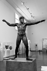 Artemision Bronze of Zeus or Poseidon (c. 460 BC) National Archaeological Museum Athens, Greece