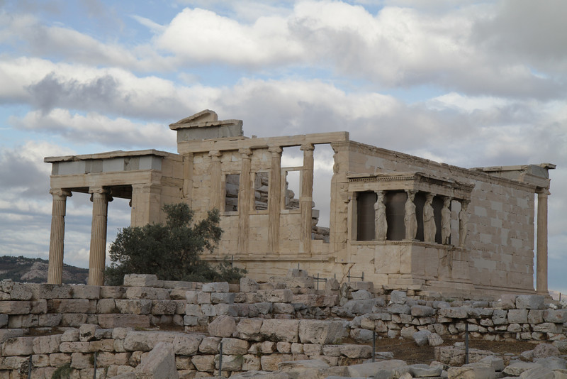 The Erechtheion at the Acropolis