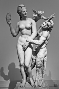 Group of Aphrodite, Pan and Eros (c. 100 BC) National Archaeological Museum Athens, Greece