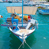 Ermioni waterfront with its quaint fishing boats