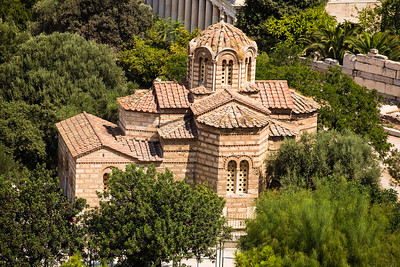 The Byzantine Church of the Holy Apostles