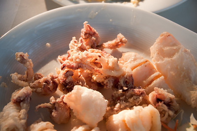 Calamari in Fenari, Thrace