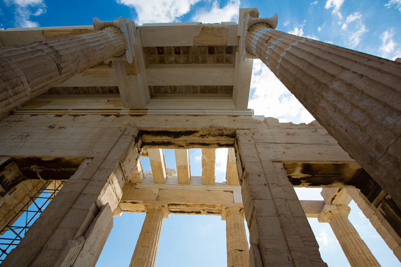 The Propyla of the Acropolis