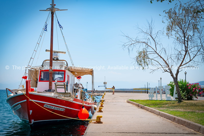 #Itea, waterfront and fishing boat