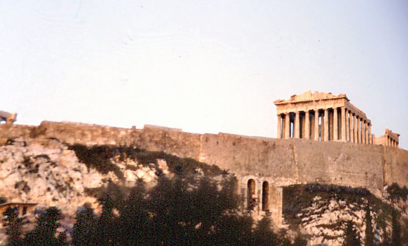 The Parthenon Athens Breece - Jan 1979