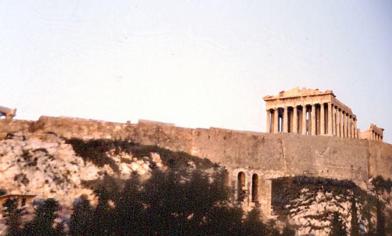 The Parthenon Athens Breece - Jan 1979