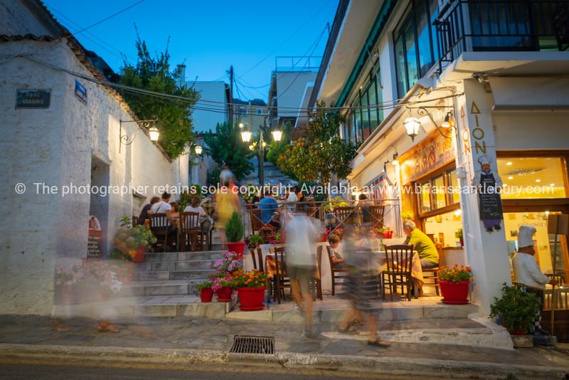 Deplhi street scene.