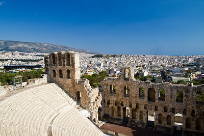 Odeon of Herodes Atticus Acropolis Athens, Greece