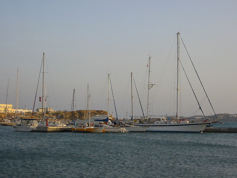 Naxos harbor
