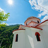 One of the many small churches one comes across when travelling Greece.