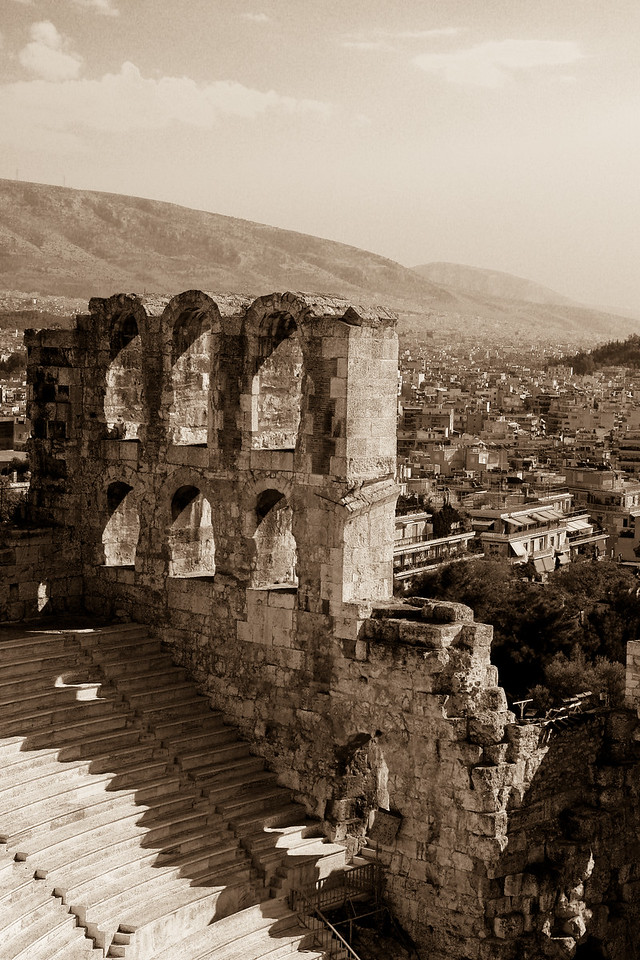 Odeon of Herod Atticus by Alan Clay Knapp