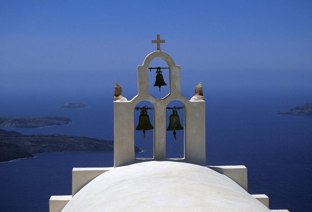 Santorini steeple